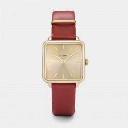 La Tétragone Gold / Scarlet Red
