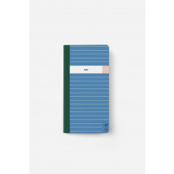 Adres- en telefoonboekje - striped
