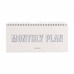 Planner Monthly Plan