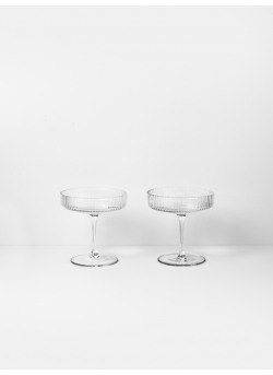 Ripple set 2 champagnecoupes