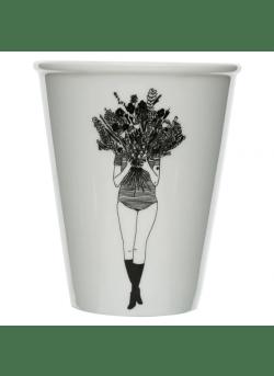 Helen B Cup flowergirl
