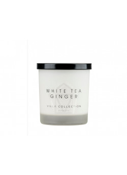 Fragrance candle w.lid white