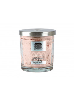 Fragrance candle Glass w. metal lid Palm Oil Rose VC17Np155