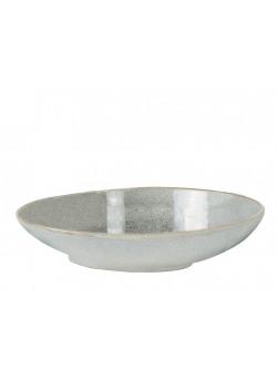 Pasta dish plate stoneware