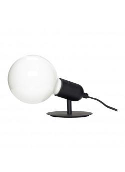 Table lamp w/bulb, metal, dia10xh10cm E27/40W