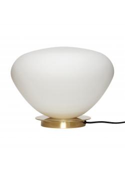 Table lamp, Glass/metal