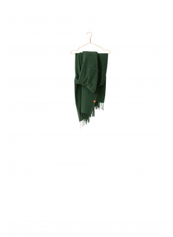 Sjaal van gerecycleerd wol