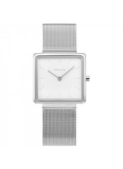 Obaku vierkant dames uurwerk - V236LXCIMC