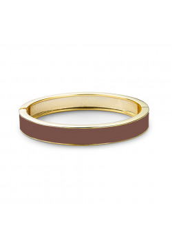 armband in email, chocoladebruin
