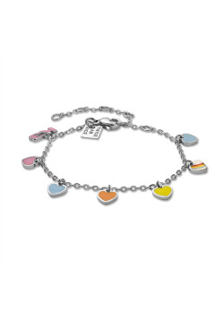 K3 collection, bracelet with 6 hearts and K3
