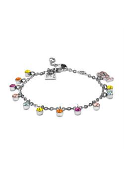 K3 collectie, armband met multikleurige steentjes en K3