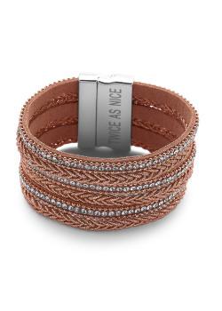 High fashion armband, rosé