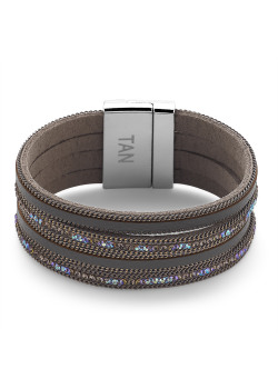 High fashion armband, grijs