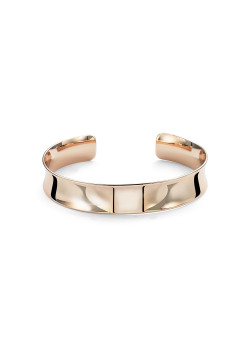 High fashion rigide armband, rosé