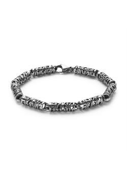 Stainless steel bracelet, tribal bracelet