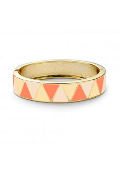 armband in email, oranje/perzik