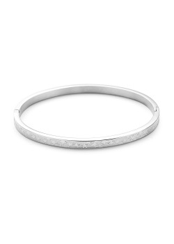 stainless steel bangle, little stars