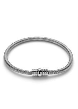 Armband in edelstaal, ressort met magneetslot