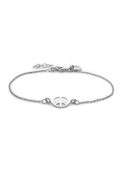Armband in zilver, vredesteken