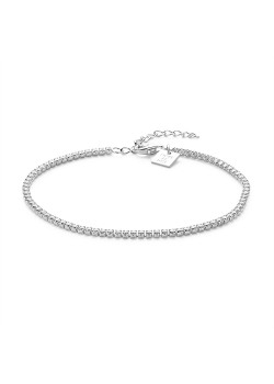 Armband in zilver, tennisarmband