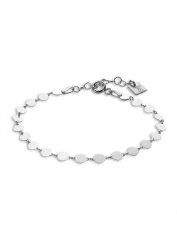 Armband in zilver, rondjes