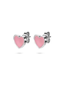 K3 collectie, oorbellen, roze hartjes
