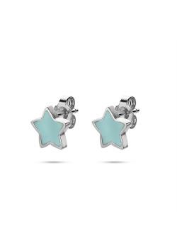 K3 collectie, oorbellen, blauw sterretje
