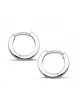 Creool oorbellen in zilver