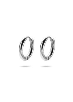 Stainless steel earrings, hoop earrings