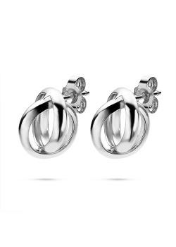 Oorbellen in zilver, ringen
