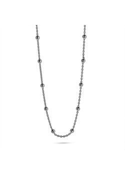 Halsketting in zilver, korte bolletjes ketting, 2,5 mm