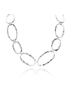 High fashion halsketting, ovale schakels