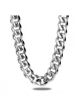 stainless steel necklace, gourmet