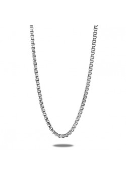 stainless steel necklace, venetian