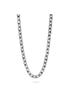 stainless steel necklace, forcat link