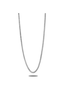 stainless steel necklace, venetian link