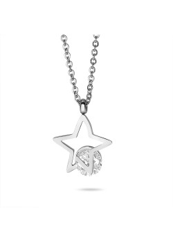 Stainless steel necklace, little star