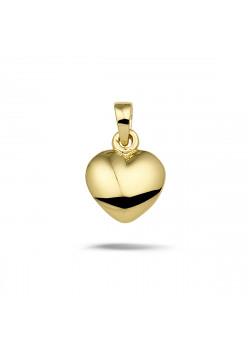 Hanger in 18kt plaqué goud, hart