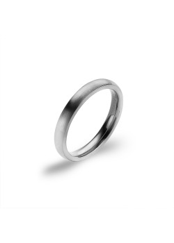 Stainless steel ring, matt