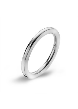 Stainless steel ring, 2,5 mm