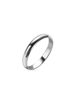 Ring in zilver, 3 mm