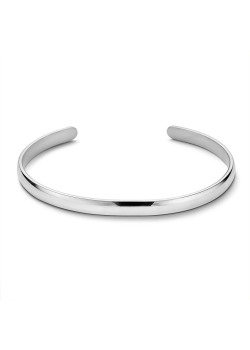 Armband in edelstaal, open bangle 5 mm