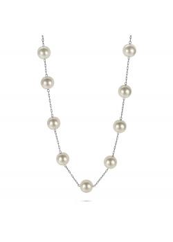 High fashion halsketting, lange ketting, 25 parels
