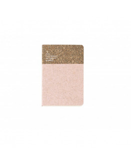 Cork Notebook Small Nude