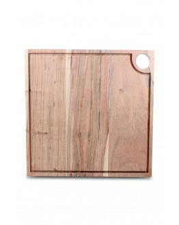 Board Carve 30x30cm Acacia