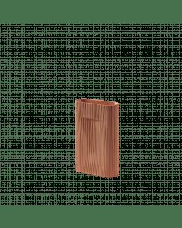 Ridge Vase H35cm - Terracotta