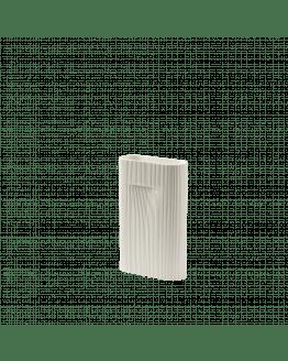 Ridge Vase H35cm - Off White