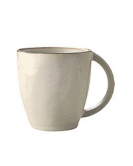 Mug Hessian w/handle Stoneware 25cl
