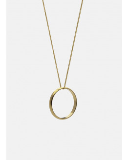 Icon Necklace 70cm Medium Ring 30mm