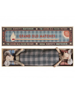 Mice, Grandpa & Grandma in Matchbox